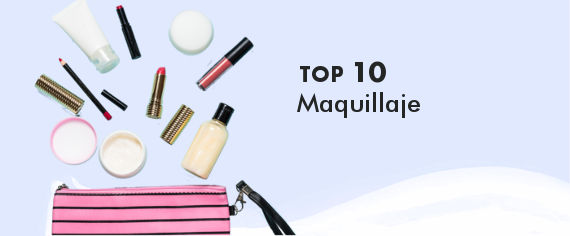 TOP 100 MAquillaje de productos de Cosmética Natural