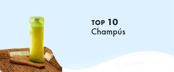TOP 100 Champús de productos de Cosmética Natural